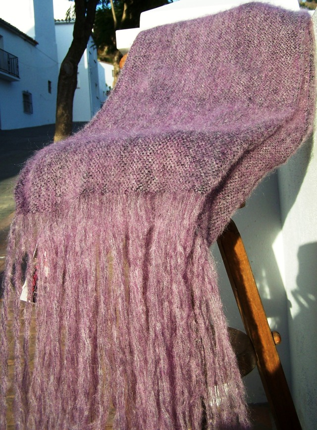 Chal Mohair Lila