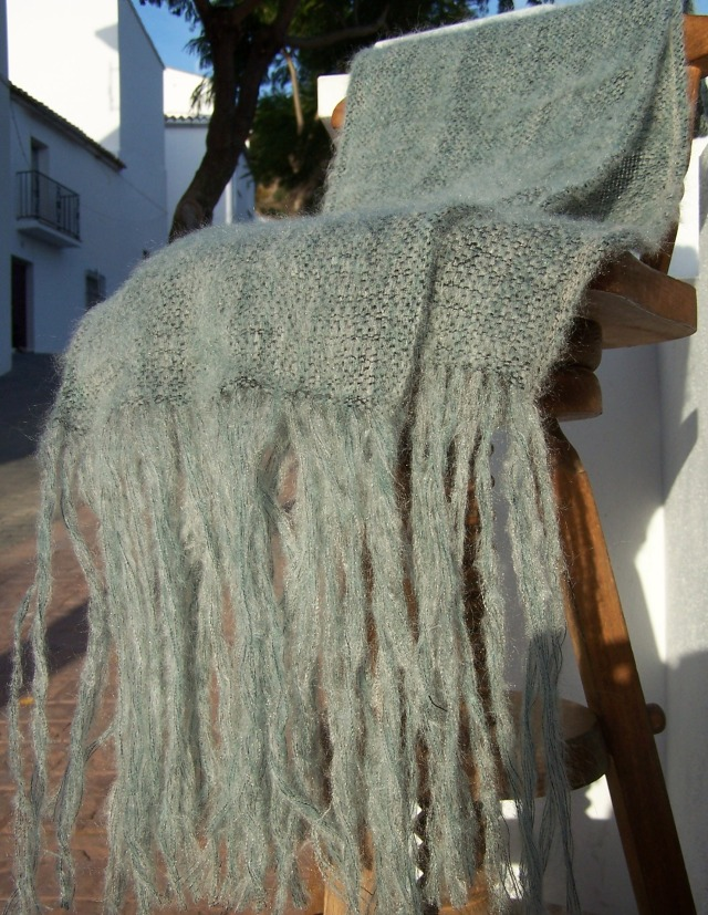 Chal Mohair Verde
