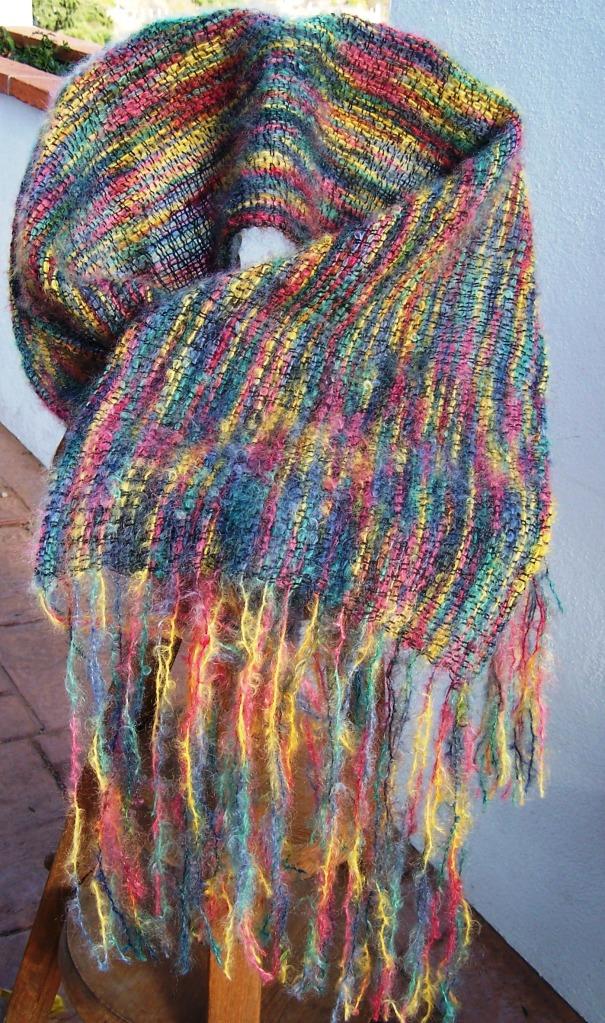 Pañuelo Mohair Multicolor